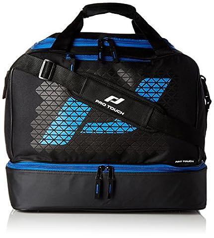 Pro Touch Uni Pro Bag M Force Sporttasche, Schwarz/Blau, 46