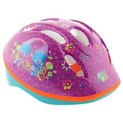Trolls Girl Safety Helmet, Pink, Medium from MV Sports and Leisure Ltd