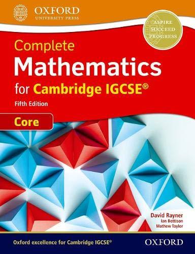 Complete mathematics core for Cambridge IGCSE. Student's book. Per le Scuole superiori. Con espansione online