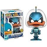 Funko - Figurine Looney Tunes - Duck Dodgers - Duck Dodgers Metallic Chase Pop 10cm - 0745559251229