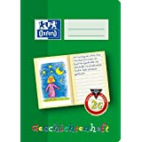Oxford 100050105 School Learning to Write Notebook, A5, Lineature 0 (First Class) with Coloured Middle Strip A5, 16 Blatt 0