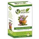 MR Ayurveda 100% Organic Indigo Powder For Hair & Beard Dye (100 Grams)