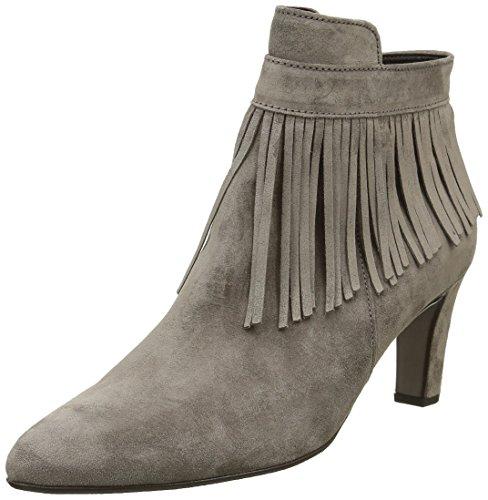 Gabor Shoes 51.702 Damen Kurzschaft Stiefel Grau (Wallaby 13)