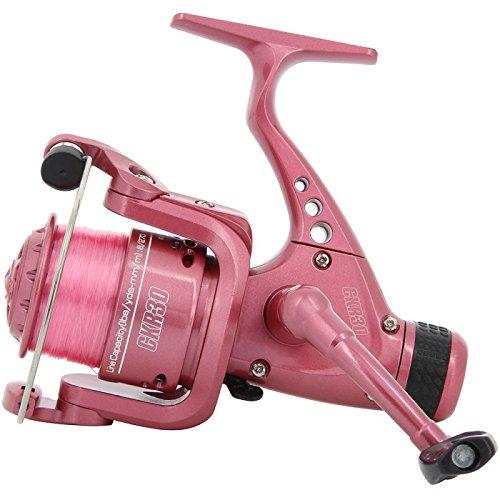 BKL1 Angelrolle CKR30 Pink Stationärrolle Angeln Fischen Rolle Mit Schnur