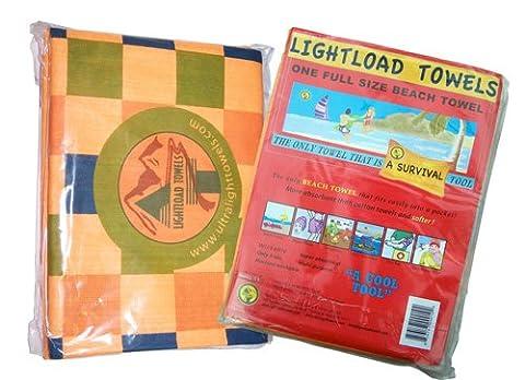 Lightload leicht zu tragen Strandtücher 90x150 Zentimeter, sortiert