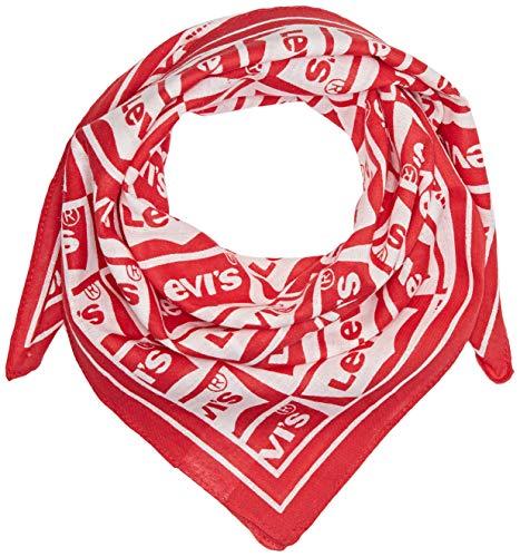 Levi's Repeat Batwing Bandana Chal, Rojo (Brillant Red 88), única (Talla del Fabricante: UN) para Hombre
