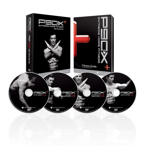 P90x + Plus 17 DVD Extreme HOME Fitness Workout SET + Anleitung + Nutrit