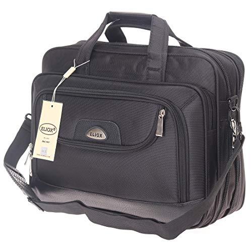 XXL Businesstasche Raumwunder Arbeitstasche Herrentasche Flugbegleiter Umhängetasche Schultertasche Messenger (Modell 5)