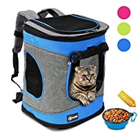 Pet Carrier Backpack for Dogs, Black