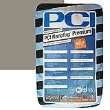 """PCI Nanofug Premium 15kg Flexfugenm""""rtel Nr. 31 Zementgrau"""