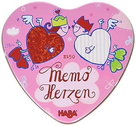 Haba - Memo des coeurs