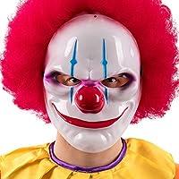 Carnival Toys 784 Maschera Clown Horror, Multicolore, Taglia Unica