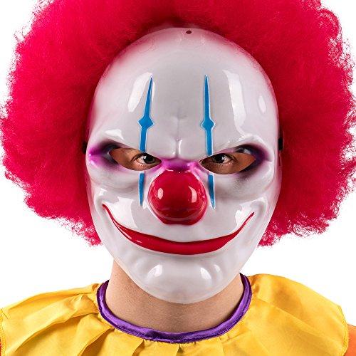 Carnival toys - maschera clown horror, multicolore, taglia unica, 784