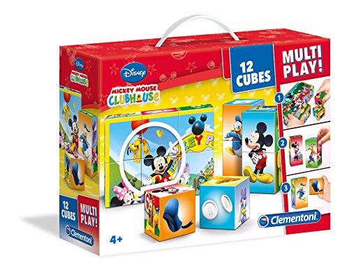 Mickey-mouse Spielzeug Clubhaus (Clementoni 41502.1 - Würfelpuzzle