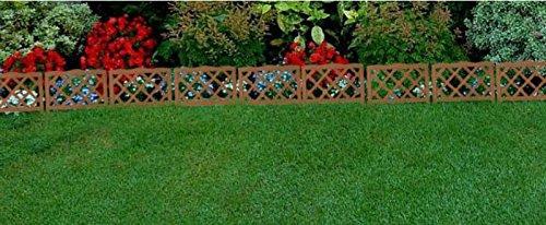 Piante Per Recinzioni Giardino.Pannelli Per Recinzione Da Giardino In Legno Bordo Per Prato O Per