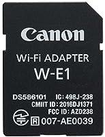 Canon W-E1. Interne, Technologie de connectivité: Sans fil, Interface: WLAN. Norme Wi-Fi: IEEE 802.11n. Couleur du produit: Noir Connectivité -Technologie de connectivité: Sans fil -Interne: Oui -Interface: WLAN  Poids et dimensions -Largeur: 24 mm -...