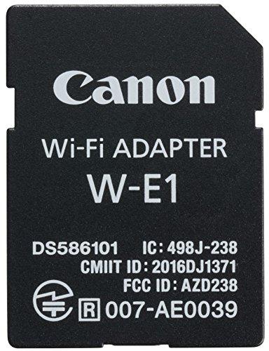 Canon W-E1 WLAN-Adapter für EOS-Canon-Kameras Canon Wifi