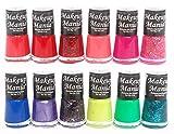 Makeup Mania Exclusive Nail Polish Set of 12 Pcs (Multicolor Set # 85)