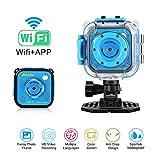 Kamera Action Digitalkamera mit Wifi Wasserdichte Camcorder für Kinder Geschenk