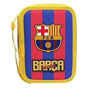 Futbol Club Barcelona- Plumier 2 Pisos (CYP Imports EP-671-BC)