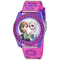Disney Kids FZN3598 Frozen Anna and Elsa Digital Watch
