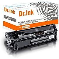 Dr. De tinta Compatible para CE505A 05A cartuchos de tóner de repuesto para HP LaserJet P2030, HP LaserJet P2035P2035N, HP LaserJet P2050, HP LaserJet P2055P2055D P2055DN P2055X, 2.300páginas, color negro Q2612A