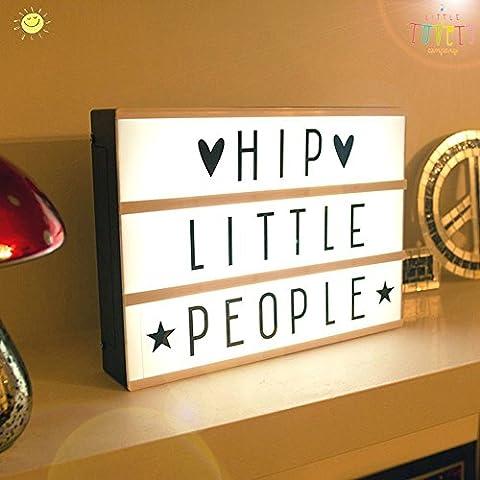 LED Leuchtkasten A4 Cinema Lightbox Leuchten Ihrem Leben (A5)