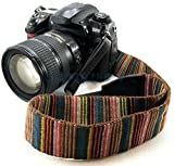 Generic Retro Style Camera Neck Strap for Nikon Models (Multicolour)