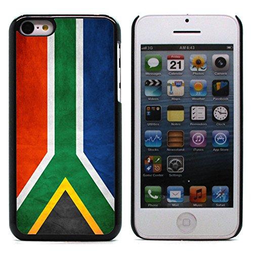 Graphic4You Vintage Uralt Flagge Von Senegal Senegalesisch Design Harte Hülle Case Tasche Schutzhülle für Apple iPhone 5C Südafrika South Africa