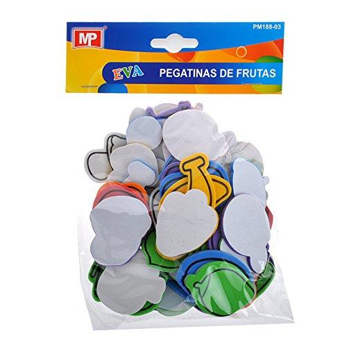Pegatinas con formas adhesivas de goma Eva