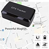 Magnetic GPS Tracker ,GPS/GSM/GPRS Tracking System with No Monthly Fee, Wireless Mini Portable Magnetic Tracker Hidden for Vehicle Anti-Theft / Teen Driving