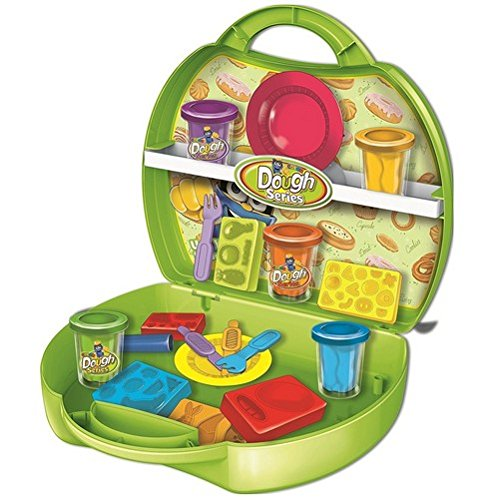 great-gift-for-kids-kids-play-doh-cake-and-waffle-set-kids-modeling-dough-craft-play-carry-case-game