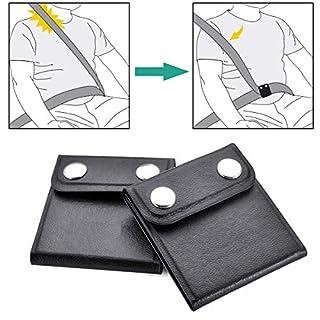 WENTS Auto-Sicherheitsgurt-Versteller - 2 Pack Sicherheitsgurt-Positionierer zum Relaxen des Schulterhalses, Kindersicherheitshalter, komfortables Autozubehör