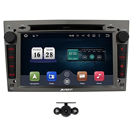 PUMPKIN Android 5,1 Autoradio Moniceiver mit GPS Navigation für Opel Corsa Vectra...