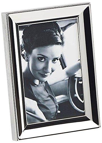 Walther WZ318S Unique Portrait Frames Portraitrahmen Amelie, 13 x 18 cm, versilbert