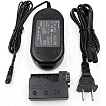 Partstec ACK-E8 AC Power Adapter Plus DR-E8 DC Coupler Camera Charger Kit (Canon LP-E8 Battery Replacement) for Canon EOS Rebel T5i T4i T3i T2i Kiss X6 Kiss X5 Kiss X4 700D 650D 600D 550D