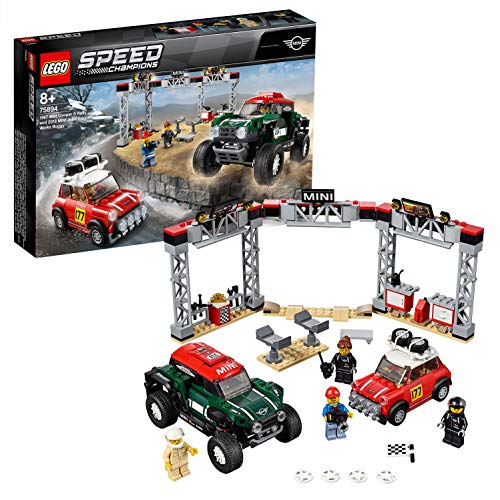 LEGO- Speed Champions 1967 S Rally e 2018 Mini John Cooper Works Buggy, Colore Vari, 75894