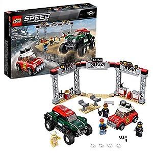LEGO Speed Champions - Mini Cooper S Rally de 1967 y MINI John Cooper Works Buggy de 2018, juguete de construcción de coches (75894)