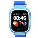 9Tong Reloj Inteligente para Niños con GPS, Reloj Inteligente para Niños con Rastreador GPS y Soporte SIM gsm con Pantalla Táctil, Llamadas de Emergencia