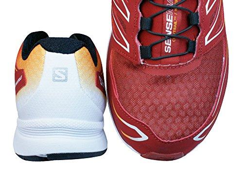 Salomon - Sense Mantra 3, Sneakers da uomo Rosso/Giallo/Bianco
