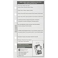 iQ-Company Logbook Refill M mixed - Diario de buceo, color blanco