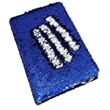#6: LilyPin™ presents mermaid notebook with blue and silver pattern