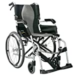 Karma Ergo Lite 2 Ultra Lightweight Folding Self Propel Wheelchair With Brakes.