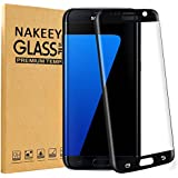 Galaxy S7 edge Protection d'Écran,Nakeey Films de Protection d'Écran Verre Trempé complète Anti-Rayures 9H dureté Résistant aux rayures Ultra Clair Protecteur écran en Galaxy S7 Edge
