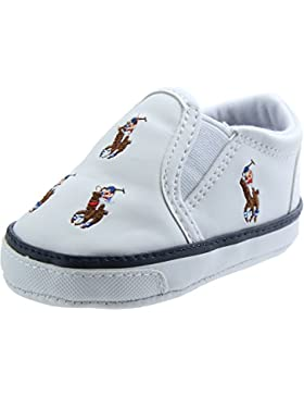 Polo Ralph Lauren Bal Harbour Repeat Multi Pony Layette White Synthetic Baby Soft Soles