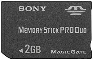 Sony - Carte Memory Stick (MS) Pro Duo MagicGate - Carte Mémoire Flash - 2 Go