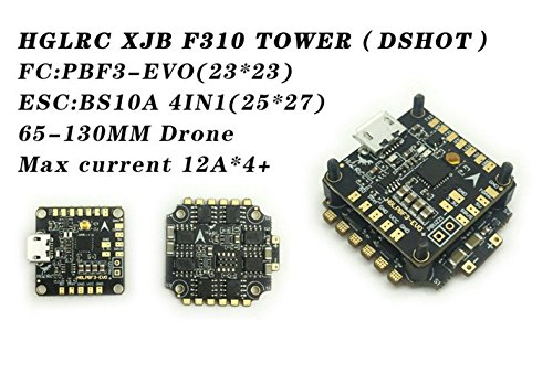 LITEBEE HGLRC Micro F3 EVO Flight Controller 6DOF Version Integrated in PDB...