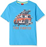 s.Oliver Jungen T-Shirt 64.806.32.5208, Blau (Light Blue 6431), 116