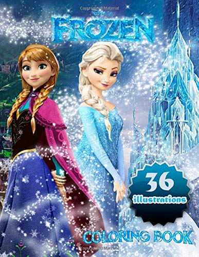 Frozen Coloring Book: Great Coloring Book for Kids