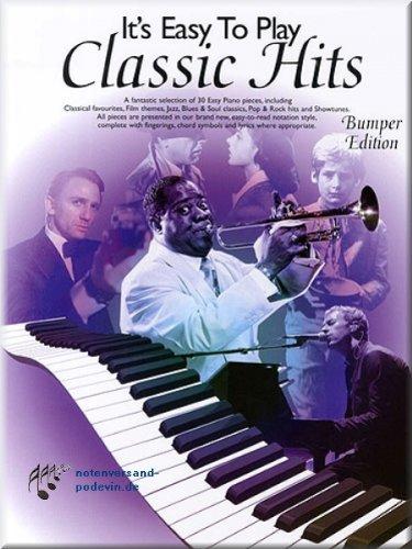 It's Easy To Play Classic Hits - Bumper Edition - Klaviernoten [Musiknoten] Canon Medium Format